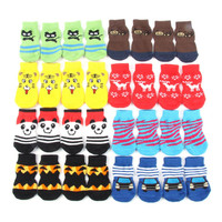 Best Price Sales Small Pet Dog Doggy Shoes Lovely Soft Warm Knitted Socks Clothes Apparels For S-XL