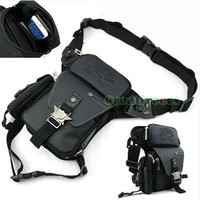 Men's Oxford Military Waist Leg Thigh Drop Bag Motorcycle Cross Body Messenger Shoulder Hip Bum Fanny Pack