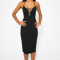 Granola Dress - Black