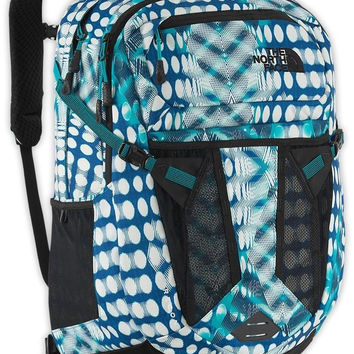 The North Face Recon Backpack - Women's Bluebird Diamond Dot Print OS