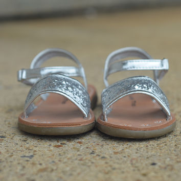 Kayla Sandal by Lucky Top {Silver}