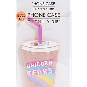 iPhone 5/5S Unicorn Tears Silicone Case