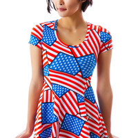 Joyrich Rich Land SKater Dress Multi