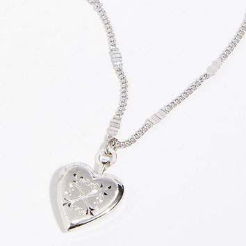 Made With Love Locket Necklace