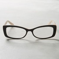 Aquila Reading Glasses by Anthropologie in Black Size: