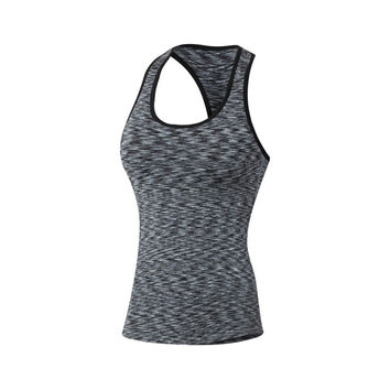 Women Fitness Sports Yoga Tops Quick Dry Vest
