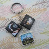 Pierce the Veil album charm bracelet/keychain