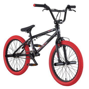 "2016 Haro Downtown DLX 18.5"" Bmx Bike Gloss Black"