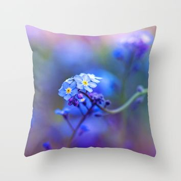 Aura Throw Pillow by Kristopher Winter
