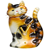 Cat Standing Magnet Clock