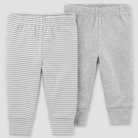 Baby 2pk Solid Pants - Just One You™ Made by Carter's® Gray