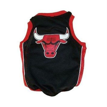 PEAPYW9 Chicago Bulls Alternate Style Dog Jersey