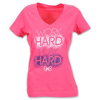 Under Armour Work Hard Play Hard Women's Tee Shirt