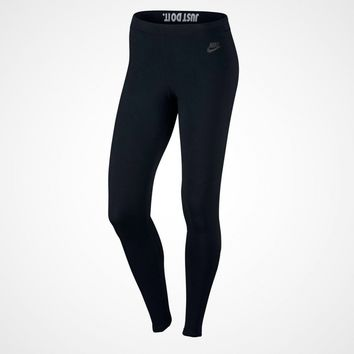 KUYOU Nike Women's Sportswear Leggings (Black/Anthracite)