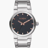 Nixon Cannon Watch Gray/Rose Gold One Size For Men 25573338101