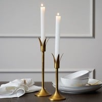 Lily Candleholders