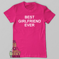 Funny T Shirt, Best Girlfriend Ever, Geeky Funny Shirt for Girlfriend, Geek, Funny Tshirt, Funny Tee, Gift for Girlfriend, Men Plus Size