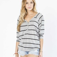 Billabong Women's At Stake Henley Top