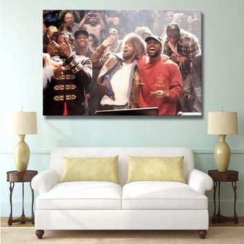 J3249- Kanye West The Life Of Pablo Rap Hip Hop Super Star Art Print Poster Silk Light Canvas Painting Wall Picture Home Decor