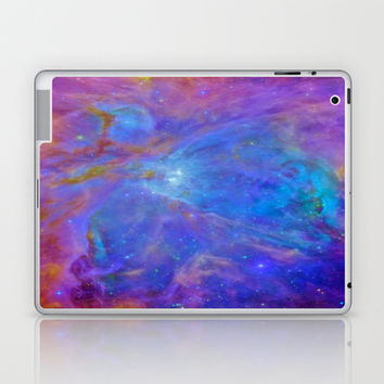 Orion Nebula Cool Blues & Lavenders Laptop & iPad Skin by 2sweet4words Designs | Society6