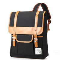 Simple light Backpack Black by BagDoRi on Etsy