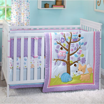 Little Love by Nojo Adorable Orchard Infant 3 Piece Crib Bedding Set & Reviews | Wayfair