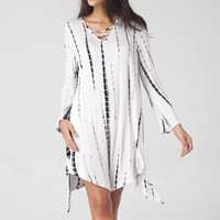 2017 Summer V-neck Long Sleeve One Piece Dress [10907674895]