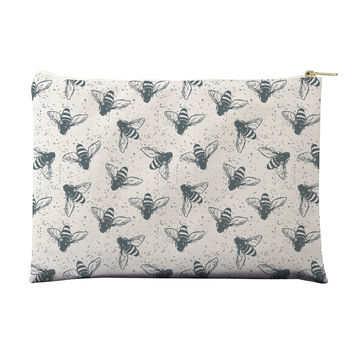 Grunge Bees Pouch
