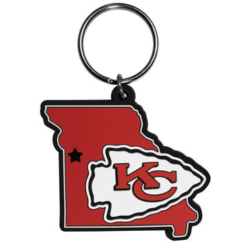 Kansas City Chiefs Home State Flexi Key Chain FHPK045