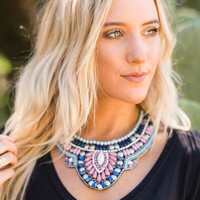 Beaded Beauty Collar Necklace