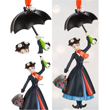 Licensed cool 2016 MARY POPPINS Umbrella Sketchbook Ornament Disney Store  SHIPPING IN BOX