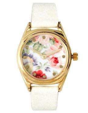 ASOS Vintage Floral Watch at asos.com