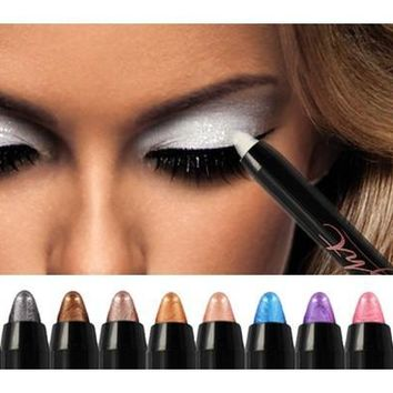 Beauty Highlighter Eyeshadow Pencil White Color 180-04-00096 [8072700231]