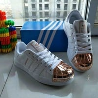 Adidas Fashion Casual Unisex Sneakers Shell Head Plate Shoes Couple Running Shoes