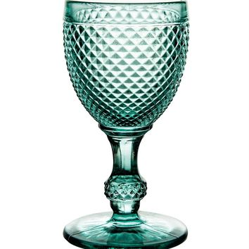 Bicos Mint Green White Wine Glasses - Set Of 4