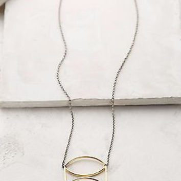 NWT Anthropologie Golden Amadine Necklace