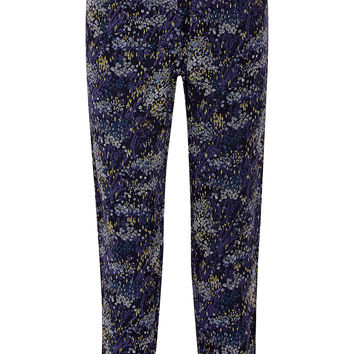 Joie Mandara printed silk-chiffon straight-leg pants – 55% at THE OUTNET.COM