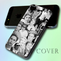 One Direction Niall Horan Collage Black and White by GreatCover Print Design for iPhone 4/4s iPhone 5 Samsung S3 i9300 Samsung S4 i9500