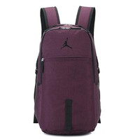 Jordan NIKE Fashion School Laptop Sport Shoulder Bag Satchel Travel Backpack