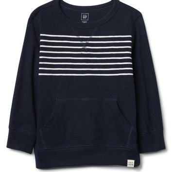 Chest-Stripe Kanga Pullover Sweatshirt|gap