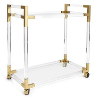 Jonathan Adler Jacques Bar Cart | New Furniture | What's New! | Candelabra, Inc.