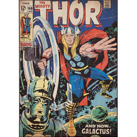 Marvel Thor Comic Wall Decal