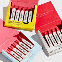 Red Earth Have Fun Lipstick Matchbook Trio | Urban Outfitters