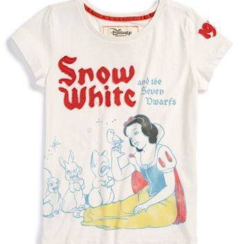 Girl's Peek 'Disney - Snow White & the Seven Dwarfs' Graphic Pima Cotton Tee