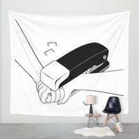 Never Let Me Go Wall Tapestry by Henn Kim | Society6