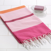 Fouta - Peshtemal -Turkish Towel - Hammam Towel - Handwoven Towel - 4660-040-Mimoza
