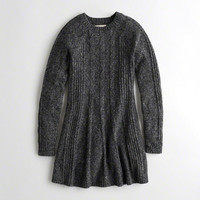 Girls Cable Sweater Dress | Girls New Arrivals | HollisterCo.com