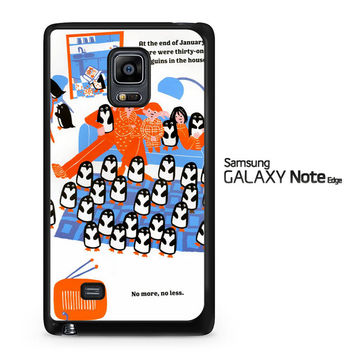 365 penguins book Y1987 Samsung Galaxy Note Edge Case