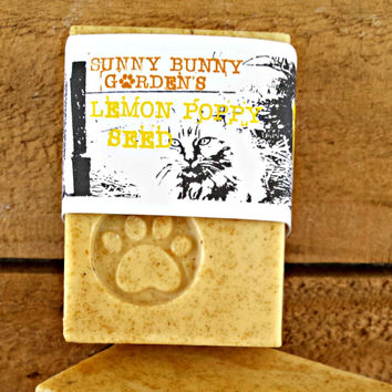 Lemon Poppy Soap Bar *Vegan*