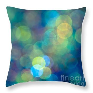 "Blue of the Night Throw Pillow for Sale by Jan Bickerton - 14"" x 14"""